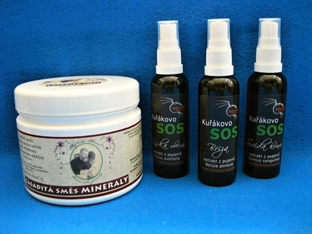 Pro zdraví kuřáků bylinky a zásaditá směs minerálů